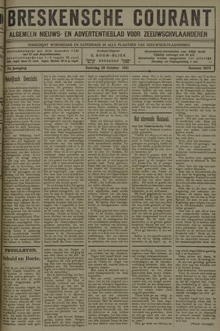 Breskensche Courant 1921-10-29