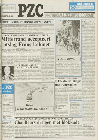 Provinciale Zeeuwse Courant 1984-07-18