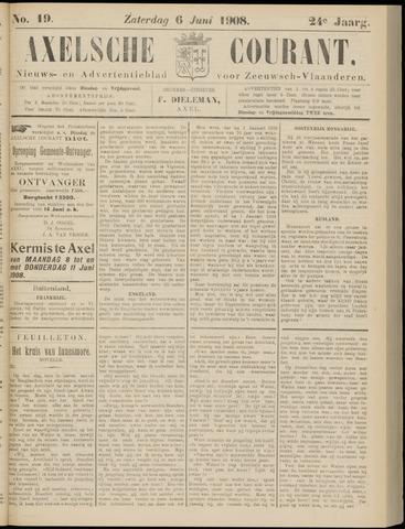 Axelsche Courant 1908-06-06