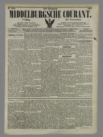 Middelburgsche Courant 1891-11-20
