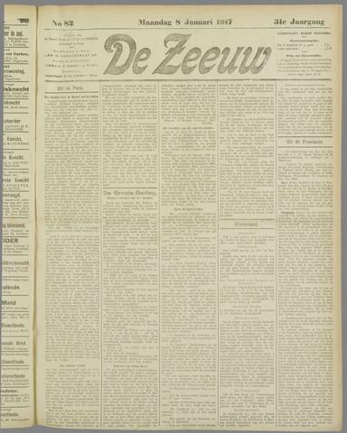 De Zeeuw. Christelijk-historisch nieuwsblad voor Zeeland 1917-01-08