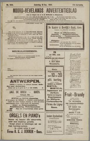 Noord-Bevelands Nieuws- en advertentieblad 1926-12-18