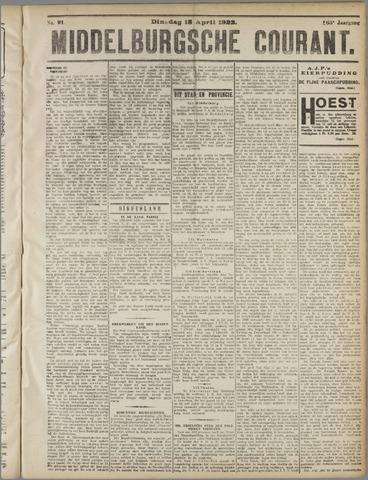 Middelburgsche Courant 1922-04-18