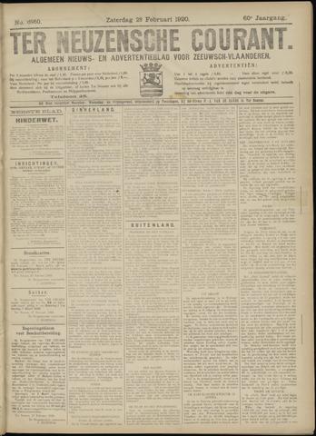 Ter Neuzensche Courant. Algemeen Nieuws- en Advertentieblad voor Zeeuwsch-Vlaanderen / Neuzensche Courant ... (idem) / (Algemeen) nieuws en advertentieblad voor Zeeuwsch-Vlaanderen 1920-02-28