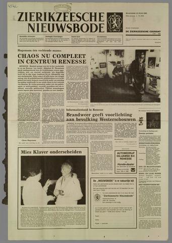Zierikzeesche Nieuwsbode 1985-07-22