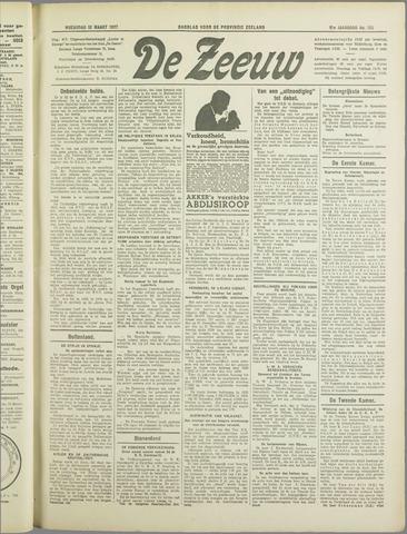 De Zeeuw. Christelijk-historisch nieuwsblad voor Zeeland 1937-03-10