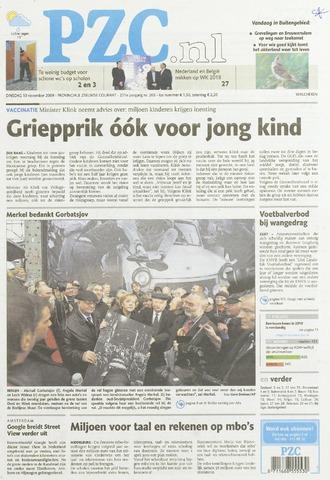 Provinciale Zeeuwse Courant 2009-11-10