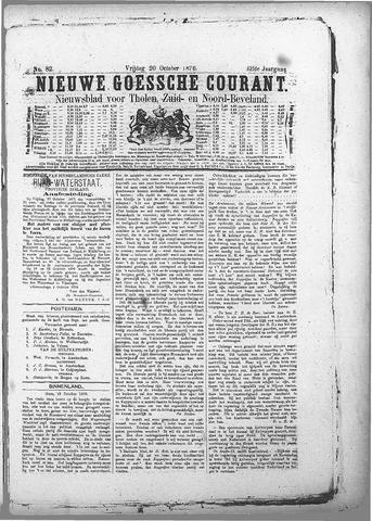 Nieuwe Goessche Courant 1876-10-20