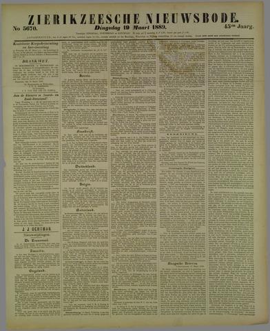 Zierikzeesche Nieuwsbode 1889-03-19