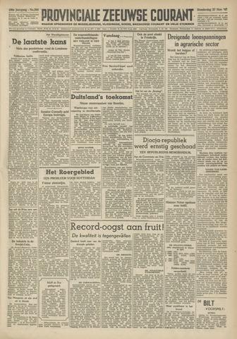Provinciale Zeeuwse Courant 1947-11-27