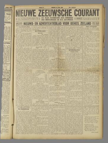 Nieuwe Zeeuwsche Courant 1924-04-15