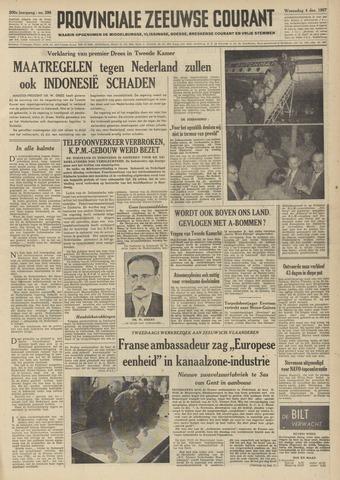 Provinciale Zeeuwse Courant 1957-12-04