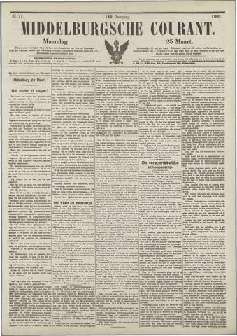 Middelburgsche Courant 1901-03-25