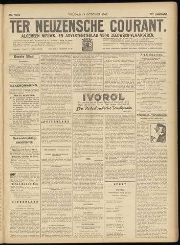 Ter Neuzensche Courant. Algemeen Nieuws- en Advertentieblad voor Zeeuwsch-Vlaanderen / Neuzensche Courant ... (idem) / (Algemeen) nieuws en advertentieblad voor Zeeuwsch-Vlaanderen 1933-10-13