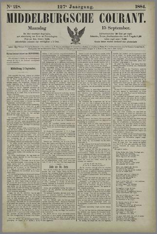 Middelburgsche Courant 1884-09-15
