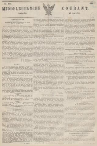 Middelburgsche Courant 1850-08-29