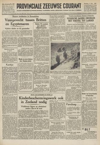 Provinciale Zeeuwse Courant 1951-12-04