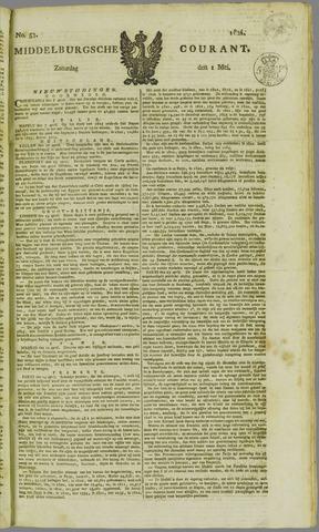 Middelburgsche Courant 1824-05-01
