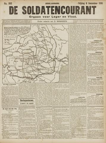 De Soldatencourant. Orgaan voor Leger en Vloot 1916-12-08