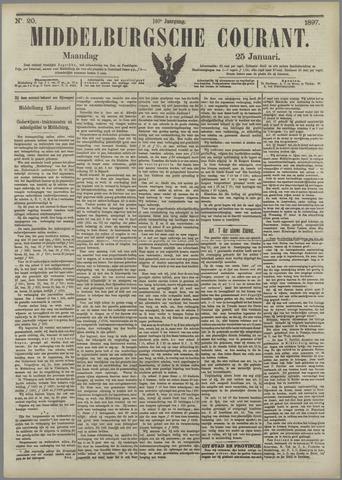 Middelburgsche Courant 1897-01-25