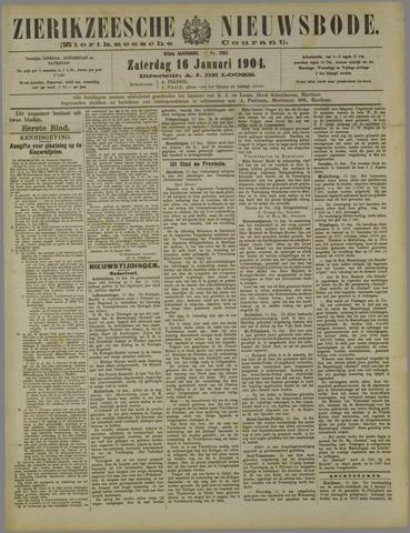 Zierikzeesche Nieuwsbode 1904-01-16