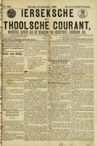 Ierseksche en Thoolsche Courant 1903-09-19
