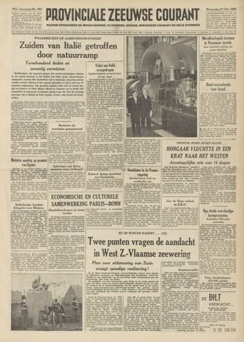 Provinciale Zeeuwse Courant 1954-10-27