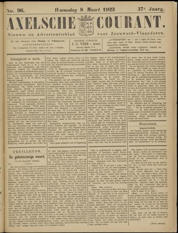 Axelsche Courant 1922-03-08