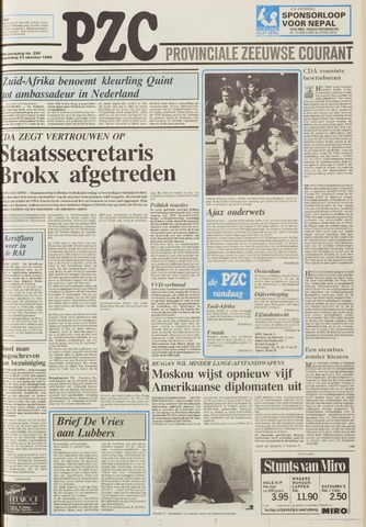 Provinciale Zeeuwse Courant 1986-10-23