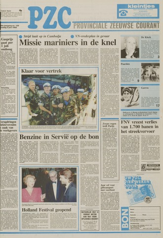Provinciale Zeeuwse Courant 1992-06-02