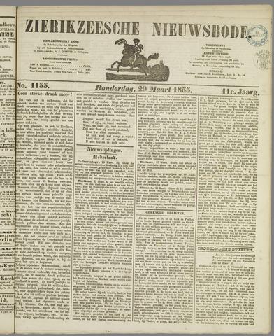 Zierikzeesche Nieuwsbode 1855-03-29