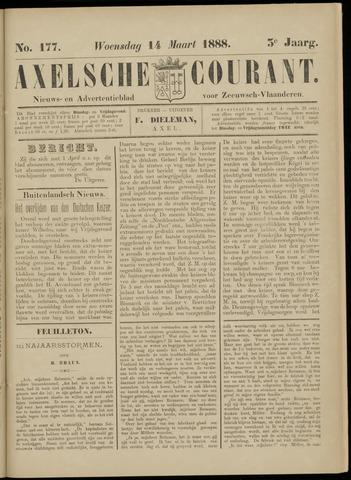 Axelsche Courant 1888-03-14