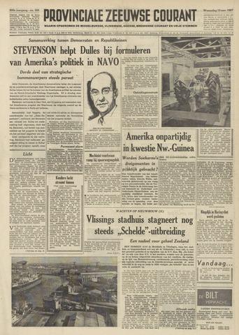 Provinciale Zeeuwse Courant 1957-11-13