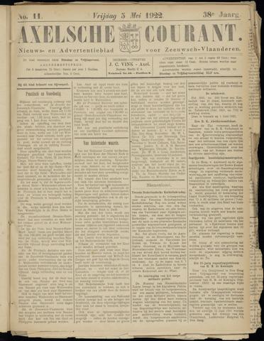 Axelsche Courant 1922-05-05