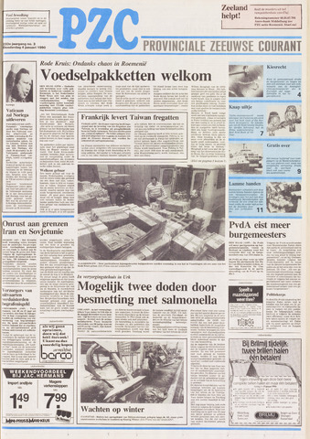 Provinciale Zeeuwse Courant 1990-01-04