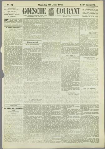 Goessche Courant 1932-06-20