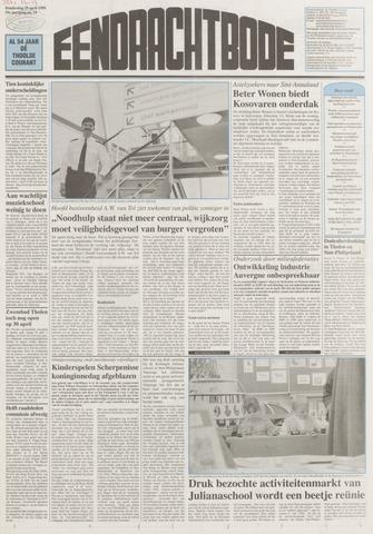 Eendrachtbode (1945-heden)/Mededeelingenblad voor het eiland Tholen (1944/45) 1999-04-29