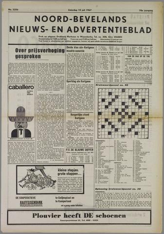 Noord-Bevelands Nieuws- en advertentieblad 1967-07-15