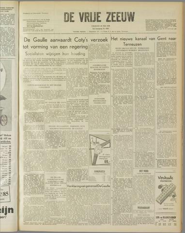 de Vrije Zeeuw 1958-05-30
