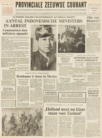Provinciale Zeeuwse Courant 1966-03-14