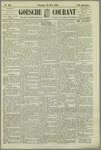 Goessche Courant 1924-05-20