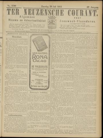 Ter Neuzensche Courant. Algemeen Nieuws- en Advertentieblad voor Zeeuwsch-Vlaanderen / Neuzensche Courant ... (idem) / (Algemeen) nieuws en advertentieblad voor Zeeuwsch-Vlaanderen 1912-07-20