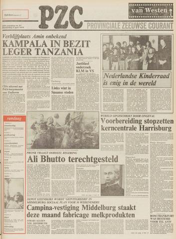 Provinciale Zeeuwse Courant 1979-04-05