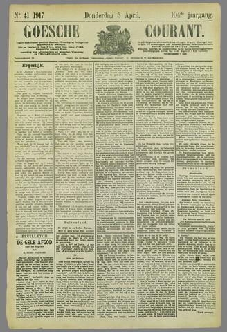 Goessche Courant 1917-04-05