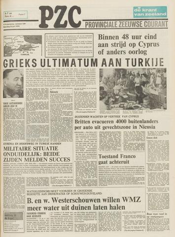 Provinciale Zeeuwse Courant 1974-07-22