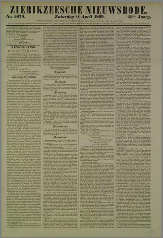 Zierikzeesche Nieuwsbode 1889-04-06