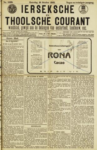 Ierseksche en Thoolsche Courant 1912-10-19
