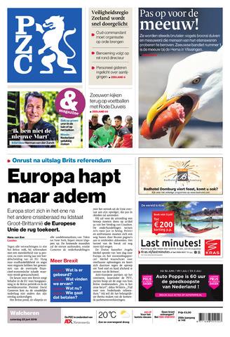 Provinciale Zeeuwse Courant 2016-06-25