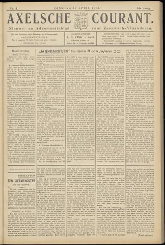 Axelsche Courant 1938-04-12