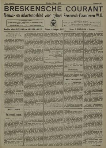 Breskensche Courant 1938-03-01